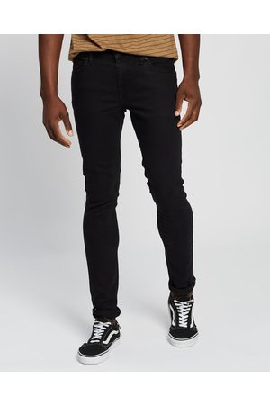 Volcom 2x4 Tapered Skinny Fit Jeans - Tapered (Blackout) 2x4 Tapered Skinny Fit Jeans