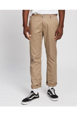 Volcom Frickin Modern Stretch Pants - Pants (Khaki) Frickin Modern Stretch Pants