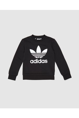 adidas Trefoil Crew Sweater Teens - Sweats ( & ) Trefoil Crew Sweater - Teens