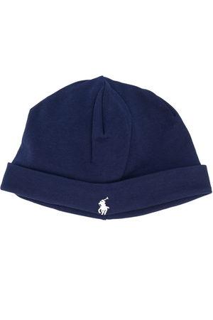 Ralph Lauren Logo embroidered beanie hat
