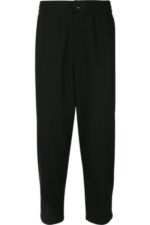 Ports V Tapered cropped trousers