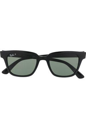 Ray-Ban Wayfarer square frame tinted sunglasses