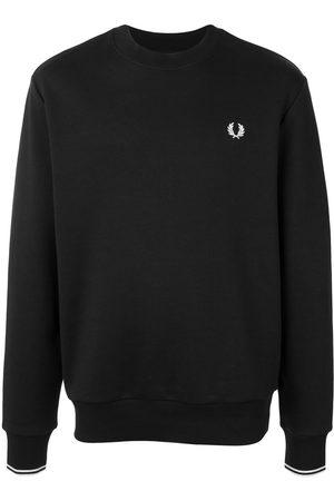 Fred Perry Men Sweatshirts - Embroidered logo crew-neck sweatshirt