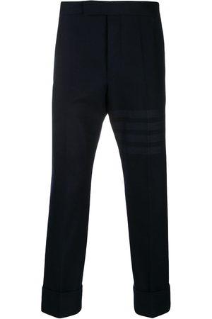 Thom Browne Tonal 4-Bar flannel trousers