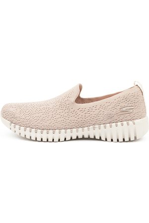 Skechers 16701 Go Walk Smart Glory Sk Taupe Sneakers Womens Shoes Casual Casual Sneakers