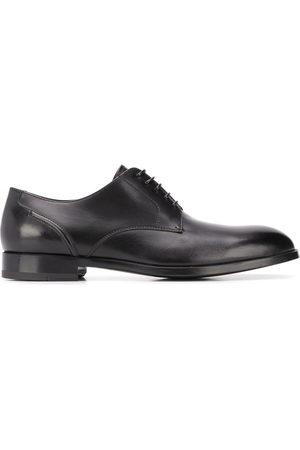 Ermenegildo Zegna Men Loafers - Stitched-panel derby shoes