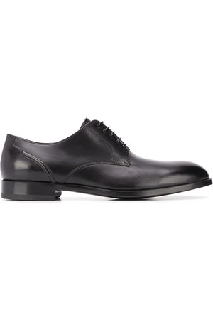 Ermenegildo Zegna Stitched-panel derby shoes