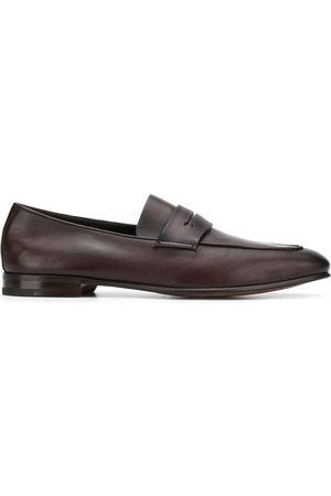 Ermenegildo Zegna Slim almond-toe loafers