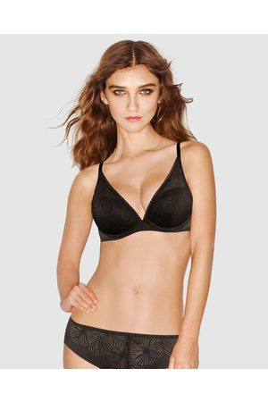Wonderbra Fabulous Feel Padded Triangle Bra - Push Up Bras Fabulous Feel Padded Triangle Bra