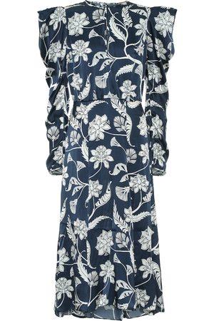 JOHANNA ORTIZ Wild Wonder silk satin dress