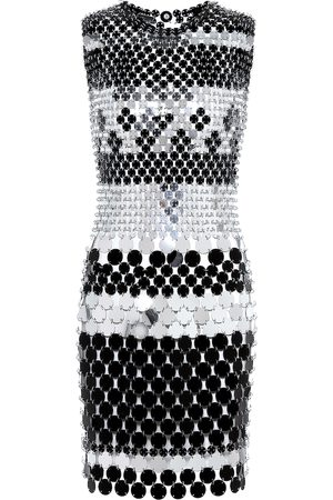 Paco rabanne Paillette-embellished minidress