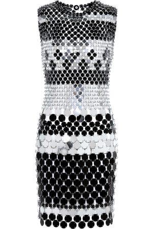 Paco rabanne Paillette-embellished minidress