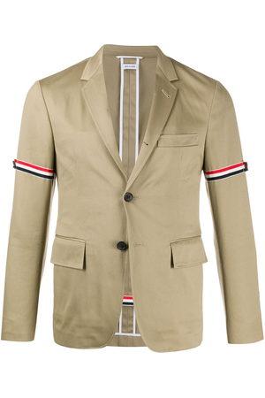 Thom Browne Unconstructed grosgrain armband sport coat