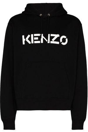 Kenzo Logo-print long-sleeve hoodie