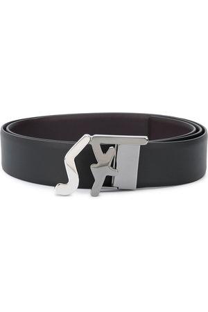 Salvatore Ferragamo Logo buckle belt