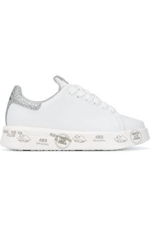 Premiata Belle glitter flatform sneakers