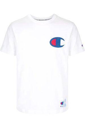 Champion Men Short Sleeve - Logo patch crew neck T-shirt