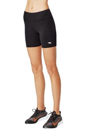 Running Bare High Rise Supplex Womens Bike Short Tights
