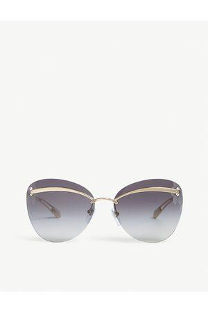 Bvlgari BV6130 61 round lenses sunglasses