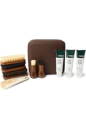 Lorenzi Travel Shoe Care Set with Leather Case