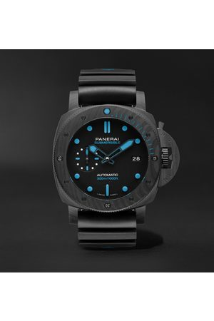 PANERAI Men Watches - Submersible Automatic 42mm Carbotech and Rubber Watch