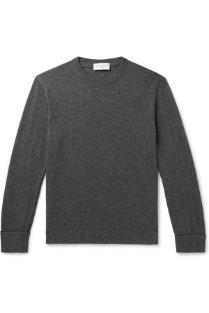 OFFICINE GENERALE Men Sweaters - Nina Mélange Cashmere Sweater
