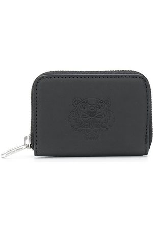Kenzo Women Purses - Tiger embossed leather purse
