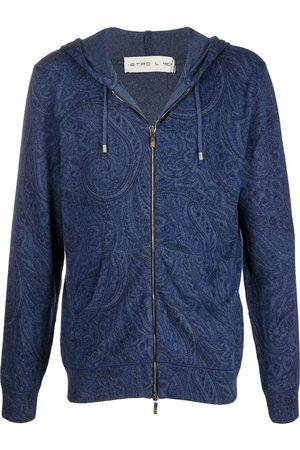 Etro Paisley-print zipped hoodie