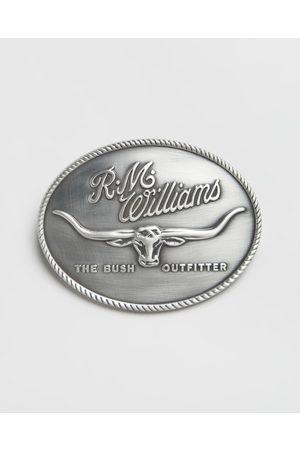 R.M.Williams Logo Buckle - Belts Logo Buckle