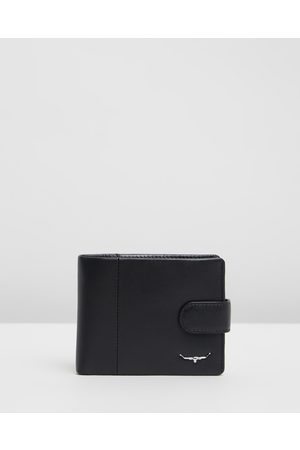 R.M.Williams Men Wallets - Tab Wallet with Coin Pocket - Wallets Tab Wallet with Coin Pocket