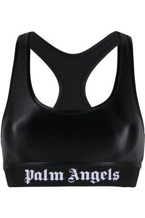 Palm Angels CLASSIC LOGO SPORTS BRA WHITE