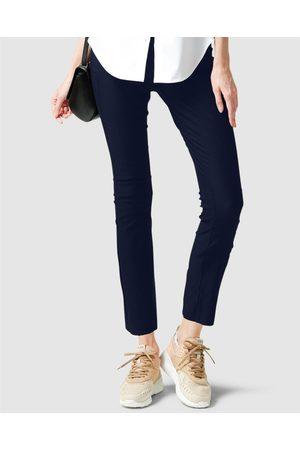 SACHA DRAKE Skinny High Waisted Pants - Pants (Navy) Skinny High Waisted Pants