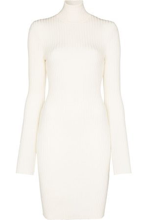 Wolford Ribbed knit fitted mini dress