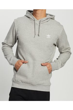 adidas Essential Hoodie - Hoodies (Medium Heather) Essential Hoodie