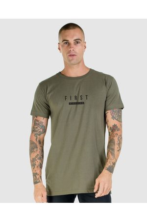 First Division Constant Tee - T-Shirts & Singlets (OLIVE) Constant Tee