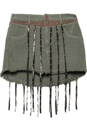 ONE TEASPOON Denim skirts