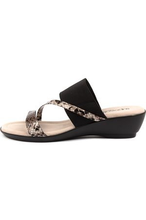 SUPERSOFT Paralee Su Multi Sandals Womens Shoes Casual Heeled Sandals