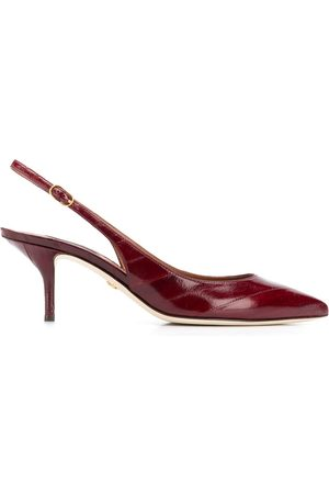 Dolce & Gabbana Slingback leather pumps