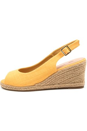 I LOVE BILLY Fabiana Il Yolk Sandals Womens Shoes Casual Heeled Sandals
