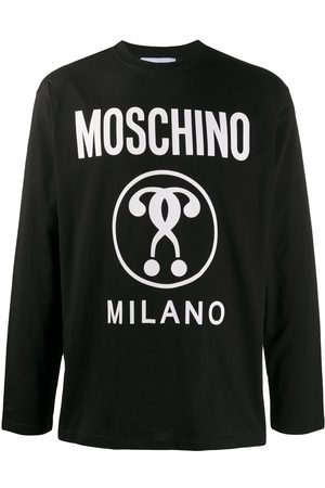Moschino Logo print long-sleeve T-shirt