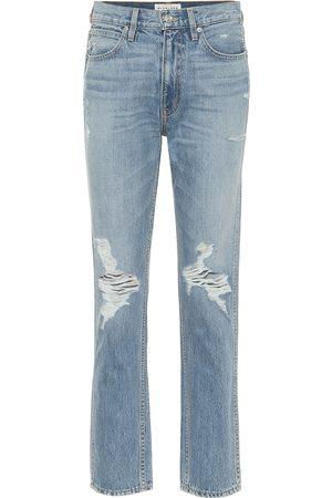 SLVRLAKE Virginia high-rise straight jeans