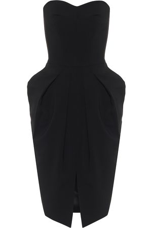 MATICEVSKI Neuron strapless cady midi dress