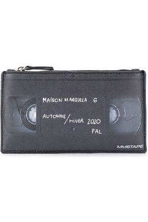 MM6 MAISON MARGIELA Faux leather cassette print purse