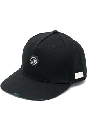 Philipp Plein Logo embroidered baseball cap