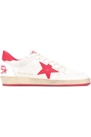 Golden Goose Ball Star leather sneakers