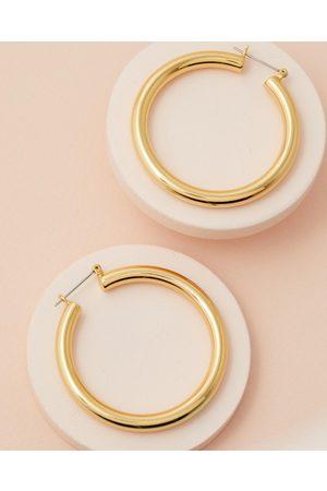 Luv AJ The Amalfi Tube Hoop Earrings - Jewellery The Amalfi Tube Hoop Earrings