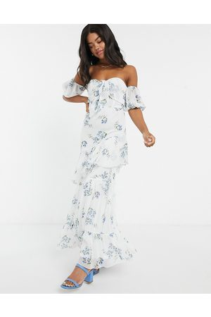 Style Cheat Floral maxi dress in multi