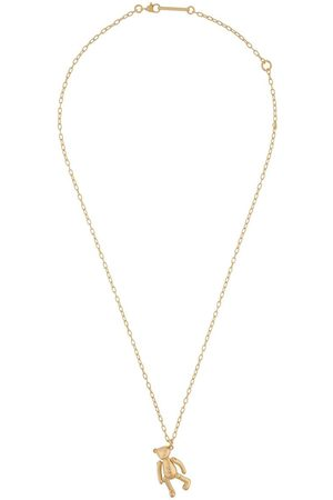 AMBUSH KK Teddy Bear charm necklace