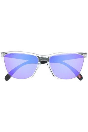 Oakley Gradient-lense clear frame sunglasses