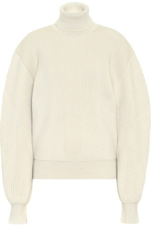 Jil Sander Ribbed wool turtleneck sweater